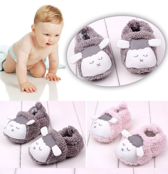 Infant prewalker Baby Girl Cute Bowknot Snow Boots Crib Shoes Toddler Warm Fleece Boots