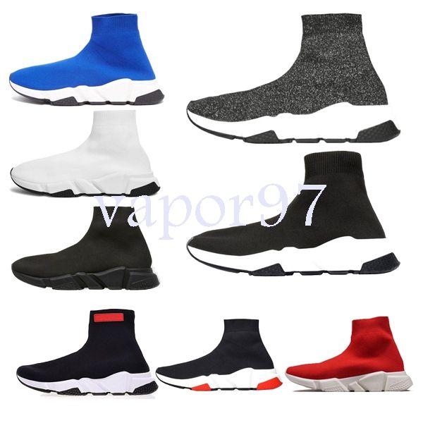 mit kasten 2019 heißer bester luxus designer mode männer welle runner frauen casual sneaker socken männer chaussures scarpe zapatos hommes speed trainer