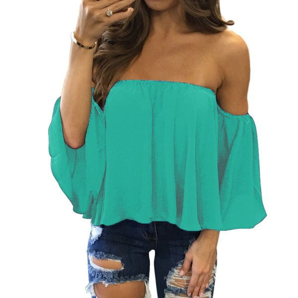 Sommer-Schrägstrich-Ansatz-T-Shirt Frauen-Kurzschluss-Hülsen-Hemd-Frauen-Oansatz beiläufiges loses Spitzen-T-Stück Größe S-5XL