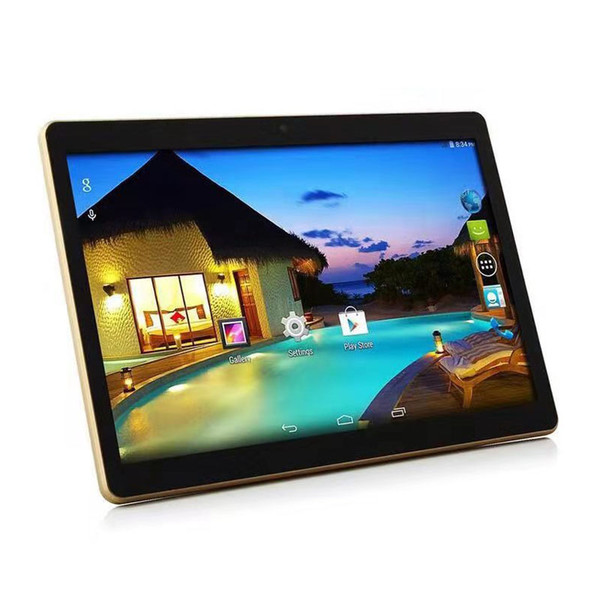 top popular 10inch Tablet PC 1GB RAM 16GB ROM Android 4.4 WIFI 3G WCDMA Network Smart Tablet Bluetooth Phablet Quad Core Tablet 2021