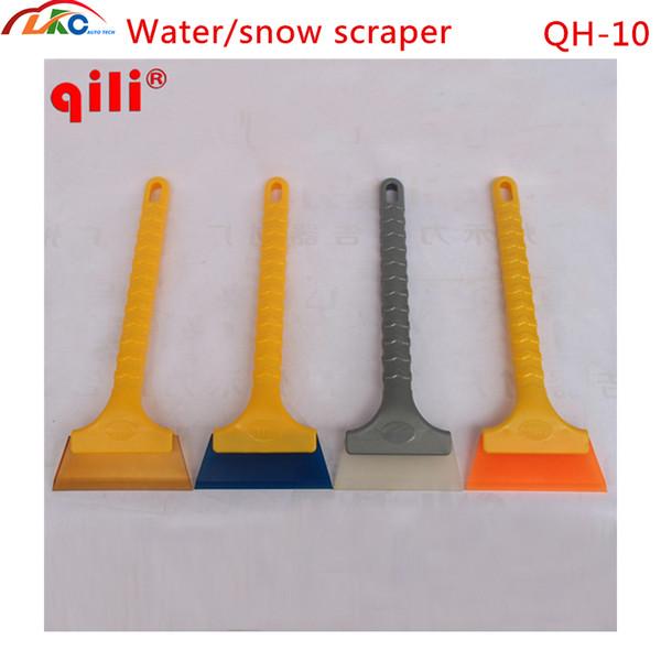 200pcs/lot DHL Qili QH-10 vinyl film wrap tools water /snow Scraper for building floor clean window clean water scraper