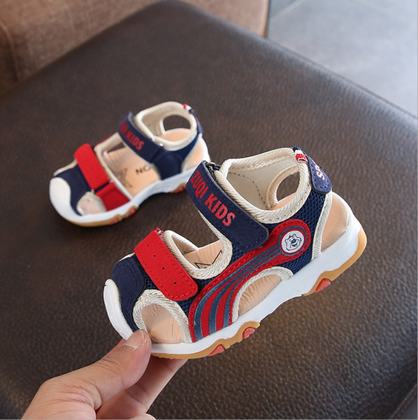 2019 summer new children's sandals baby toddler function shoes Korean version of boys and girls non-slip beach shoes