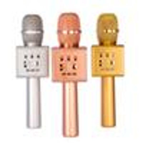 Original Micgeek I6 Kabelloses Karaoke-Mikrofon Bluetooth KTV Professionelle Voice Change-Dual-Lautsprecher-Metallmikrofone