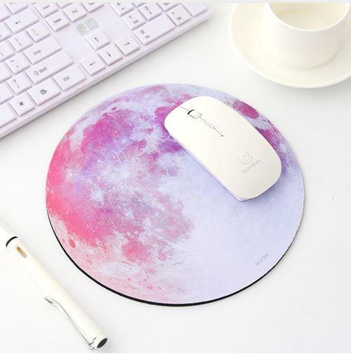 Blackpink Round Mouse Mat with Designs Natural Rubber Round Mouse Pad Mousepad Gaming Mouse Pad