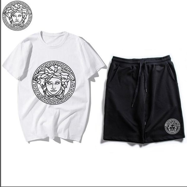 Children Clothing Summer New Children's Short-sleeved T-shirt Shorts Suit for Boy Girl Clothes Kids Two Pieces Suits