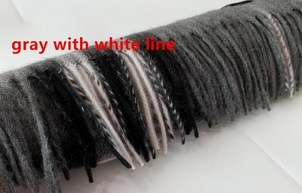 темно-серый с белой линией