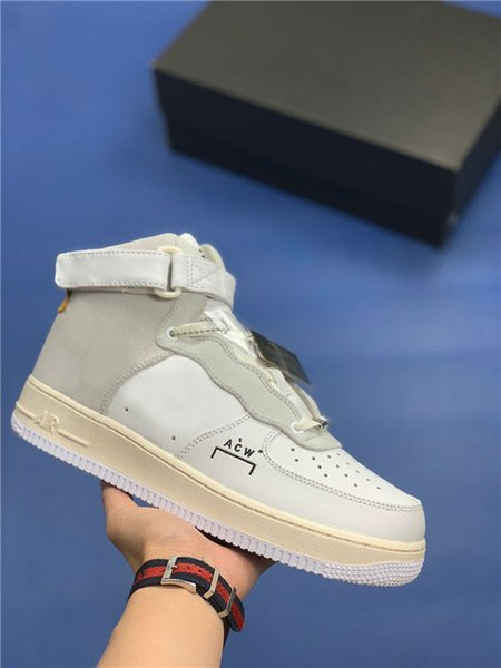 newest collection 29b72 47158 2019 2019 With Box A COLD WALL 1 ACW Samuel Ross AF1 1 Low Men Sneakers Men  Trainers Sports Skateboard One White Running Shoes From Rungshoes001, ...