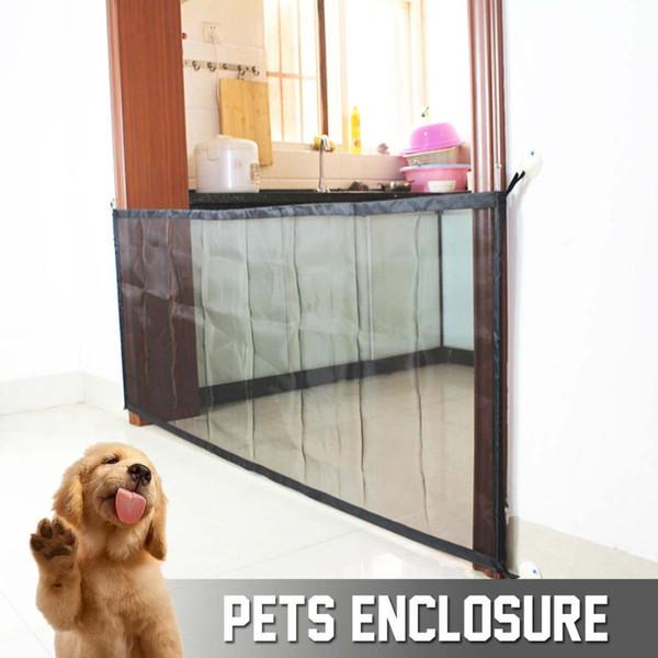 Faltendes Ineinander greifen-magisches Haustier-Tor-Hundetor für Hundeschutz und bringen Sie Haustier-Hundesicherheits-Einschließungs-Zäune Dropshipping Portable an