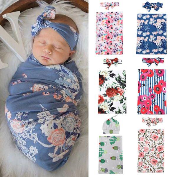 Baby Newborn Soft Cotton Blanket Girl Boy Unisex Sleeping Swaddle 120*120cm UK
