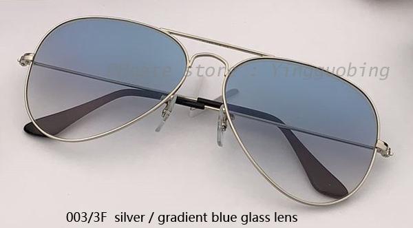 003 / 3F серебристый / градиентный синий