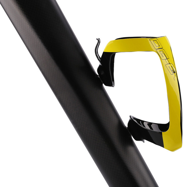 Carbon Bike Bottle Cages Titanium Alloy Lightweight Cycling Mtb Carbon Water Bottle Cage Orange/yellow Bicycle Cages