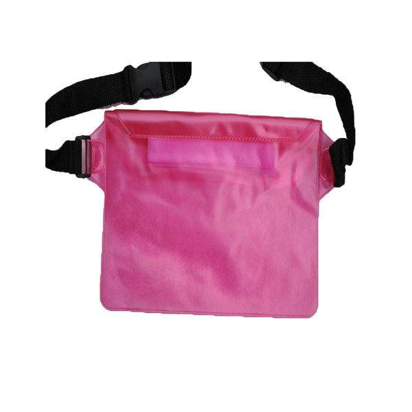 Waterproof Pouch Phone Money Case Bag With Waist Strap Underwater Waist Belt Bag For Beach Swimming Boating Drifting Diving #266374