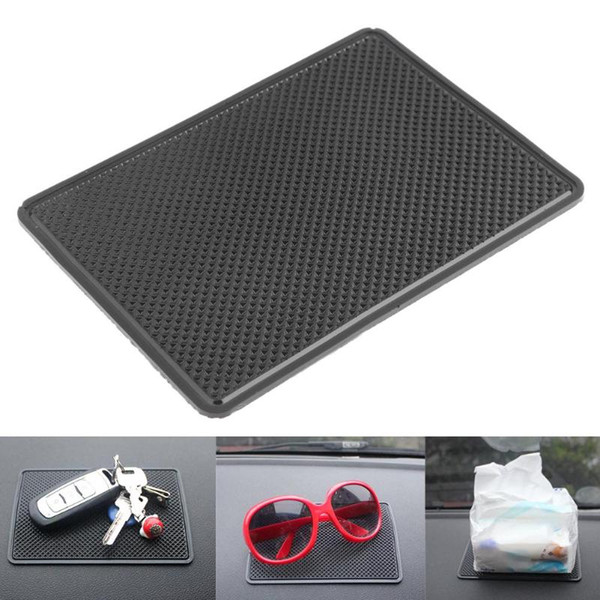 Car Styling Silicone Anti-Slip Mat for Mobile Phone MP4 Pad GPS Car Mat