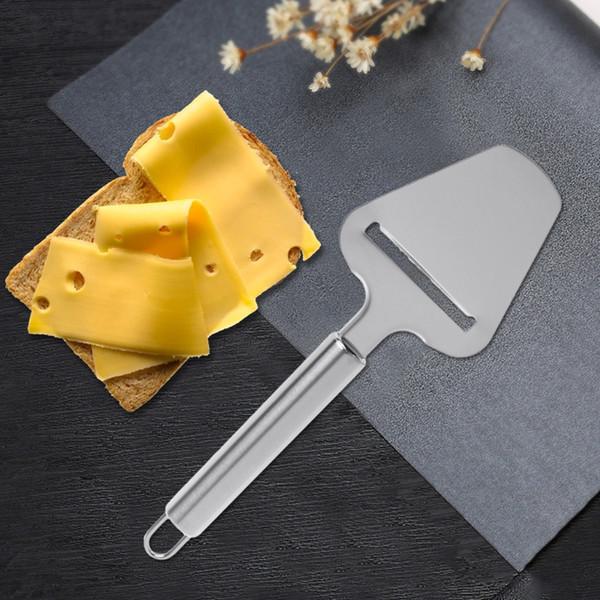 Queijo De Aço inoxidável Para O Queijo Ferramentas Ferramentas De Cozinha Slicer De Chocolate Pizza Pá Cozinha Acessórios de Cozinha ZJ0957
