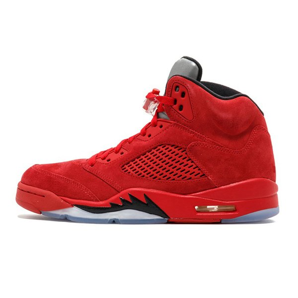 #12 Red Suede