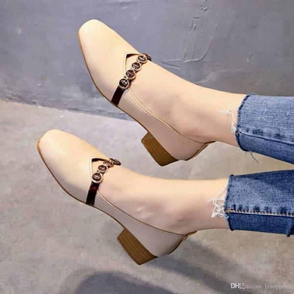 L47 Die Mode der populären Frauen beschuht flache Schuhe der neuesten Artdamen Qualitätsleder-weiche Sohlenschuhe mit Kasten