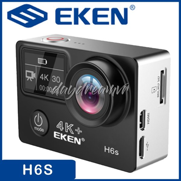 Action Camera EKEN H6S Ultra HD 4K WiFi EIS Electronic Image Stabilization Waterproof 1080P extreme Sport DV Camera for Diving hiking