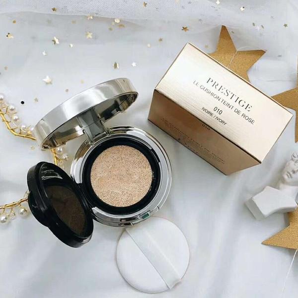 Luxury Makeup PRE-STIGE LE CUSHION FOND DE TEINT ROSE Foundation BB/CC Face Setting Powder 010# Ivory 020# Light Beige