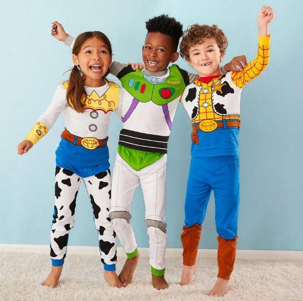 Дети Дом костюмы 2 шт пижама комплект Весна Осень с длинным рукавом 100% хлопок мальчиков и девочек мультфильм пижамы пижамы зимы теплые Nightgown