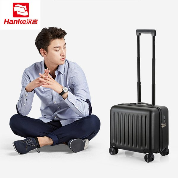 Hanke TSA Lock PC Rolling Luggage Travel Suitcases Women Spinner Trolley Carry ons Luggages Men Boarding Case Commercial Bag