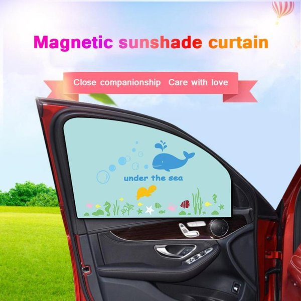 Adjustable Car Windshield Retractable Sunshade UV Protection Insulation Shade AU