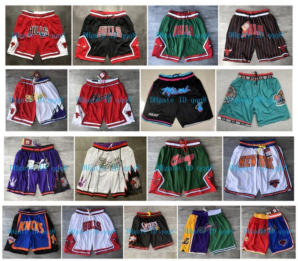 top popular 2020 Just Ultra-light Breathable Sport Don Sportwear Shorts Basketball Shorts Gym Short Training Shorts with Zipper pockets stitched Logos 2020
