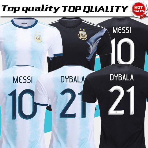 2019 camisas de futebol argentina cop américa argentina camisa de futebol MESSI Camiseta de futbol DIABA DI MARIA BIGLIA AGUERO maillot de pé