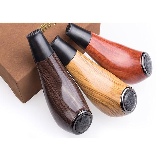 Authentic Kamry Turbo K E Pipe Vape Pen Electronic Cigarette Hookah kit 1100mAh 0.5ohm 3.3-4.2V Wooden Mod Vapor