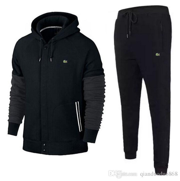 nice cheap new high 50% off Großhandel Design Trainingsanzug Herren Trainingsanzüge Herbst Marken  Herren Trainingsanzüge Jogger Anzüge Jacket + Pants Sets Sporting Suit  Print ...