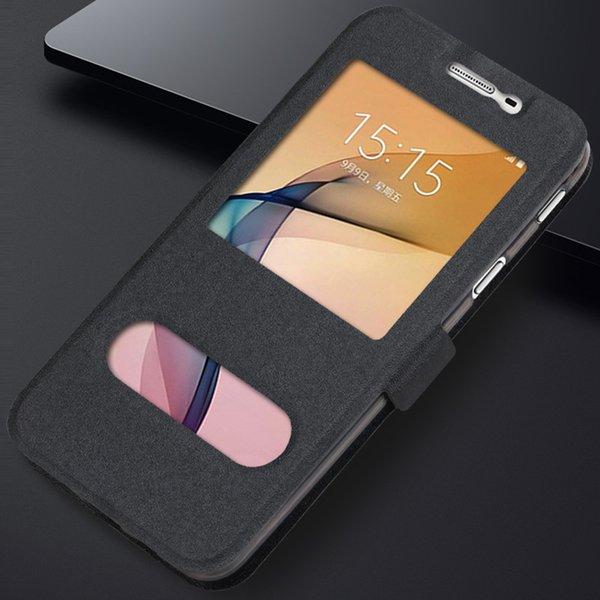 Di cuoio di vibrazione p30pro di caso per Huawei P30 P20 P10 P9 Mate 20 10 9 Pro Plus P8 P9 Lite Nova 5 Pro 4 3 3i Finestra protegge la copertura