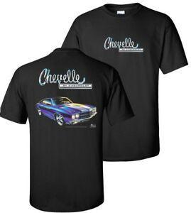 Camiseta para hombre Chevrolet 1970 Chevelle SS BlaSummer