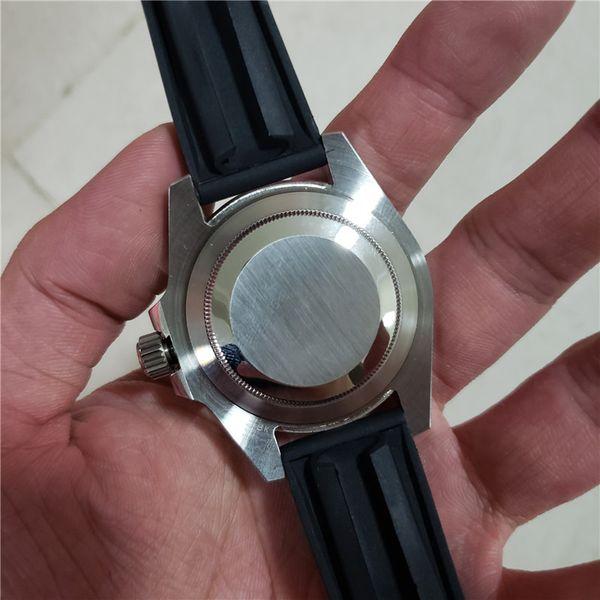 En Klasik Lüks Üst Seramik Çerçeve Erkek Mekanik Paslanmaz Çelik Otomatik Hareketi İzle Erkek Tasarımcı Saatler Spor Saatı