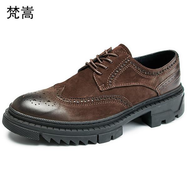 All-match cowhide bullock Intagliato pring mens scarpe di lusso da uomo scarpe firmate Lace-Up Business Men Shoes, Men Dress