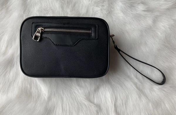 Diseñador Monedero rectangulares hombre de celosía mujeres de los bolsos carteras cosmética bolsa con cremallera de diseño monederos Bolsos