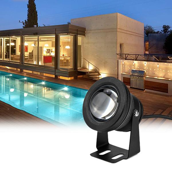 LED Подводный Прожектор 10 Вт DC12V RGB Лампа для Ландшафтного Сада Фонтан Лампа Пруд Водонепроницаемый Бассейн Наружного Освещения