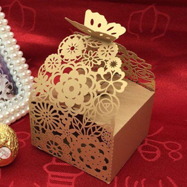 scatola di caramelle scatola di cioccolatini regalo di carta farfalla fiore di pizzo compleanno festa nuziale decorazione artigianale fai da te favore baby shower Wh C18112701