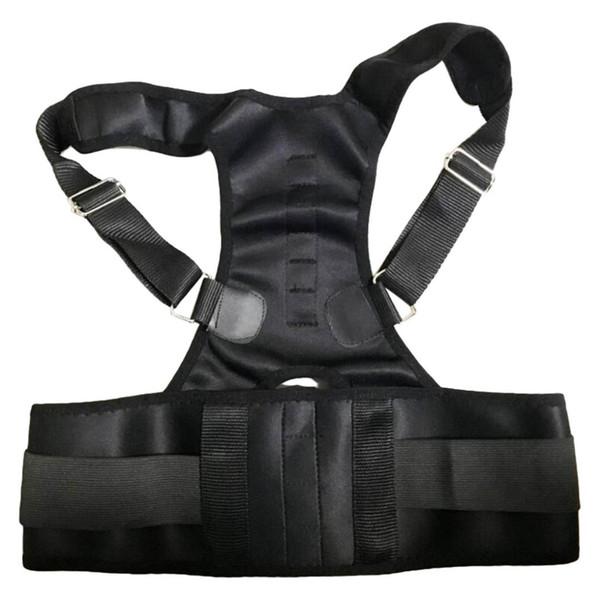 New Men Women Adjustable Magnetic Therapy Posture Corrector Support Belt Shoulder Back Protect Waist And Back