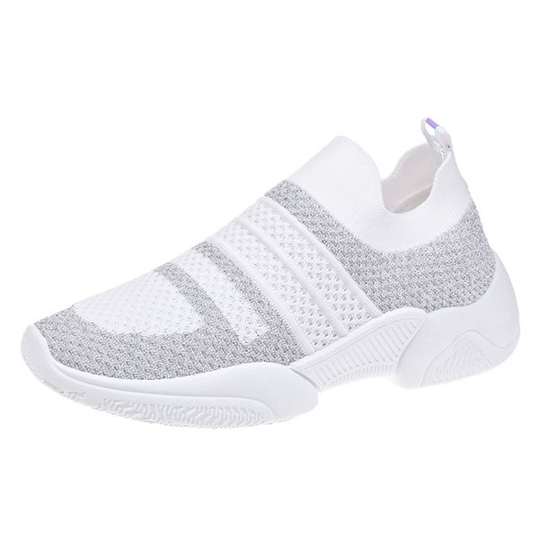 Womens Popular Breathable Sneakers Lady Outdoor Comfort Casual Shoe Summer Soft Walking Driving Shoes WSK1835