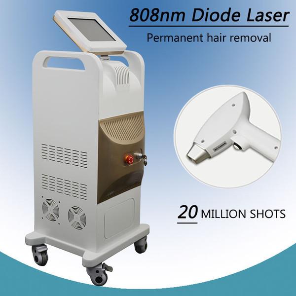Диодный лазерный аппарат Лазерная эпиляция 808nm Вертикальный 808nm Диодная лазерная эпиляция Оборудование для салонов красоты