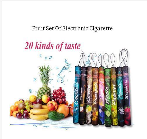 Portable Vape Pen Fruit Flavor Disposable Electronic Cigarette Shisha Stick Puffs Vapor Hookah one Nice Gift