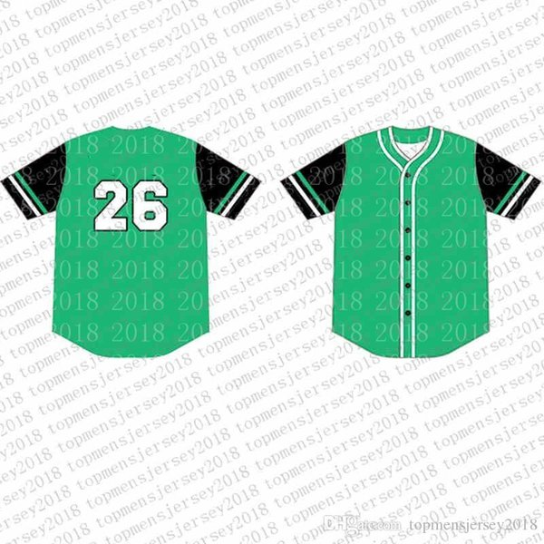 Top Custom Maillots de Baseball Logos de Broderie pour Hommes Jersey Livraison Gratuite Gros pas cher N'importe quel numéro N'importe quel Taille Taille M-XXL 70