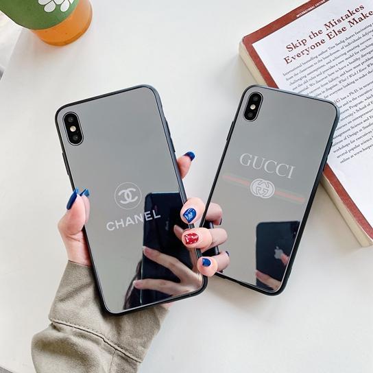 Neue Design-Marke Spiegel Handy-Shell, geeignet für das iPhone x XR x s Max 6S 7 8 plus Luxus stoßfest