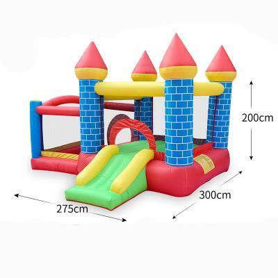 Uso domestico Nylon gonfiabile Castello gonfiabile Backyard gonfiabile mini buttafuori Salto Castello gonfiabile con Air Blower per bambini