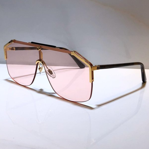 lentes de color rosa de oro