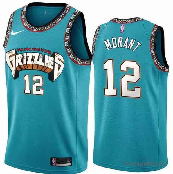 2019 New 2020 Nbajersey Memphisgrizzlies 12 Ja Morant Short Embroidery Cityedition Basketball Jerseys Player Bule S Xxxl From Lovesports527 18 28