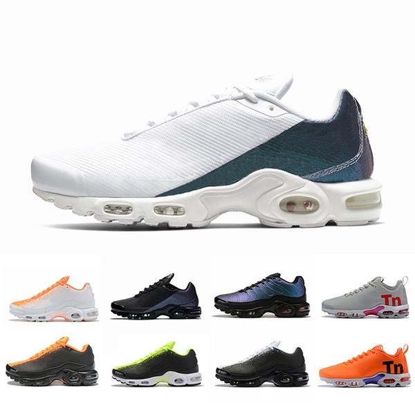 Vestiti Online Nike Air Max Plus Tn Se Shoes 2019 Air SE Donna Uomo Running Scarpe Da Ginnastica Grigio Nero Arancione Bianco Blu Taglio Alto Basso