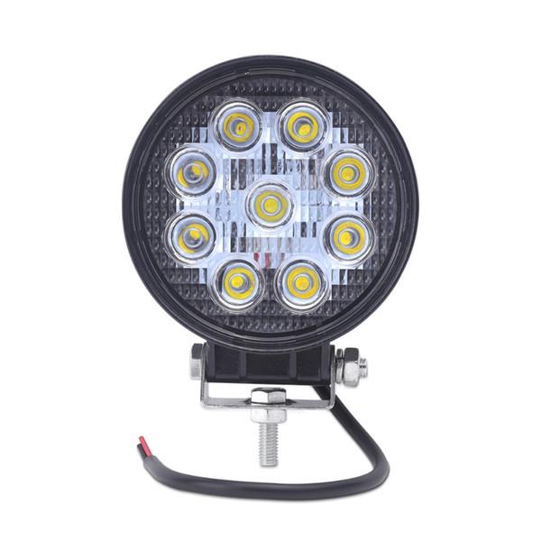 1X 4inch LUCE DI LAVORO di 27W LED del fascio 12V trattore LED di Luci del lavoro Off Road 4x4 ATV barca OFF ROAD fascio di punto