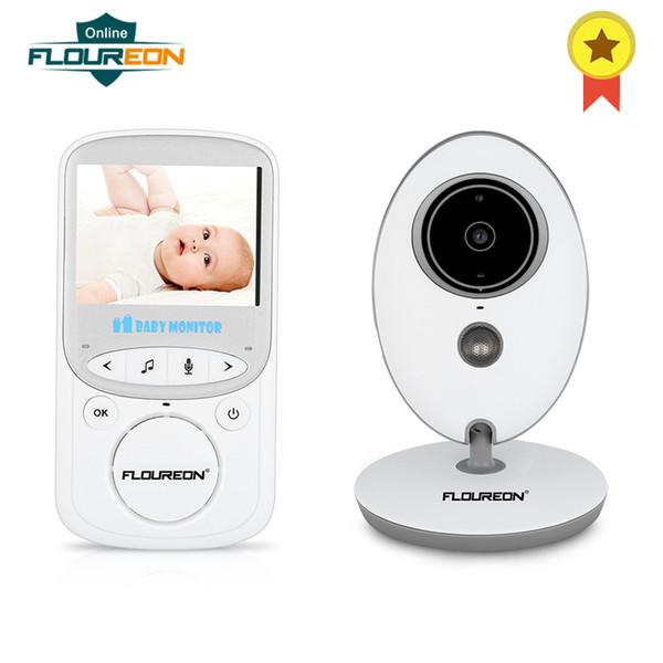 FLOUREON Digital Wireless 2.4GHz Baby Monitor LCD Video Nanny Security Camera Display 2 Way Talk Night Vision Lullabies Radio AU