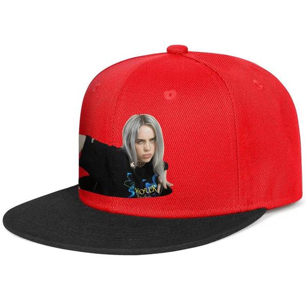 Billie Eilish Wish You Were Gay red mens and womens hip-hop baseball cap cool designer golf blank fitted custom best personalised flat brim
