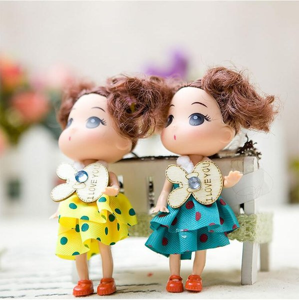 2019 hot sale Kids Toys Soft Interactive Baby Dolls Toy Mini Doll For girls and boys Dolls & Stuffed Toys head hand foot removable doll